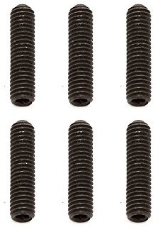 Team Associated AE81258 - Set Screws, Fahrzeug, 3 x 12 mm