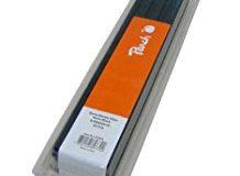 Peach R-PBS408-02 Klemmschienen DIN A4, 8 mm, 40 Blatt, 25 Stuck, schwarz