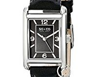 SO&CO New York Madison Damen-Armbanduhr Analog Quarz Leder - 5024.1