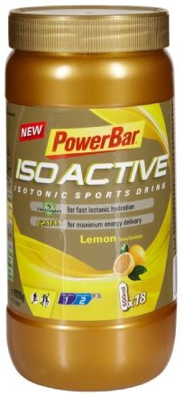 Powerbar Isoactive Lemon - Isotonic Sports Drink, 1er Pack (1 x 600 g)