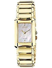 Citizen Damen-Armbanduhr Citizen L Analog Quarz Gold EG2973-55D