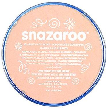 Snazaroo Kinder - Schminkfarbe, 18ml - Topf  Hautfarben Rosa