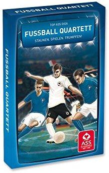 22573007 - ASS Altenburger Spielkarten - TOP ASS Giga Quartett Fussball