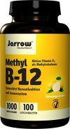 Methyl B12 1000 &nr.181,g, aktives Vitamin B12 als Methylcobalamin, Lutschtabletten mit Zitronengeschmack, vegan, hochdosiert, J