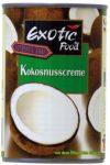 Exotic Food Kokosnusscreme, Fettgehalt: ca. 22%, 400ml, 2er Pack (2 x 400 ml Packung)