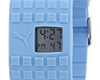 Puma Damen-Armbanduhr Cell Blue Digital Quarz A.PU910832003