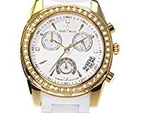 Stella Maris Damen-Armbanduhr Analog Quarz Premium Keramik Diamanten - STM15L7