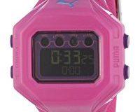 Puma Time Active Damen-Armbanduhr Digital Bounce- S Pink Quarz A.PU910772005