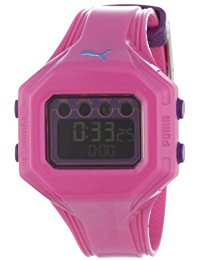Puma Time Active Damen-Armbanduhr Digital Bounce- S Pink Quarz A.PU910772005