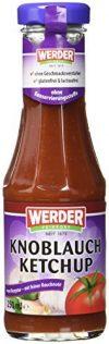Werder Knoblauch Ketchup, 1er Pack (1 x 250 ml)