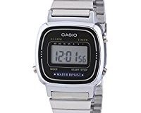Casio Collection - Damen-Armbanduhr mit Digital-Display und Edelstahlarmband - LA670WEA-1EF