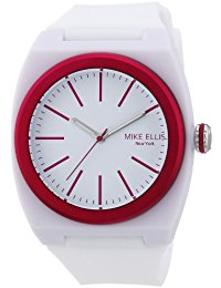 Mike Ellis New York Unisex-Armbanduhr Analog Quarz S5244CS-6