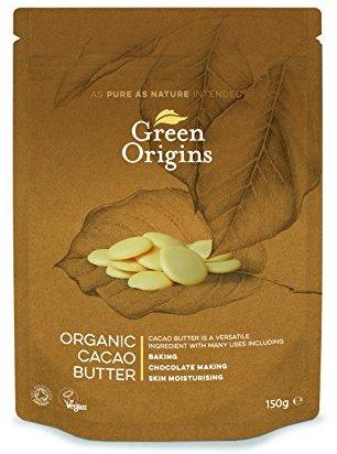 Green Origins Bio-Kakaobutter, 1er Pack (1 x 150 g)