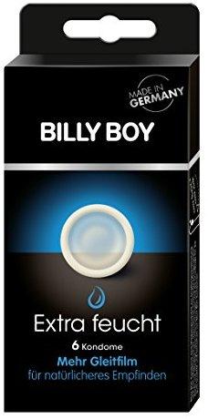 Billy Boy Extra feucht 6er - transparente Kondome mit mehr Gleitfilm