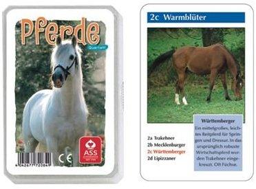 ASS Tier-Quartett - Pferde
