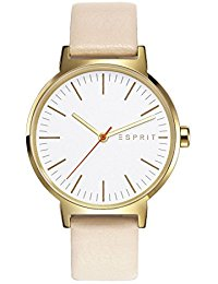 Esprit Damen-Armbanduhr Nelly Analog Quarz Leder ES108312003