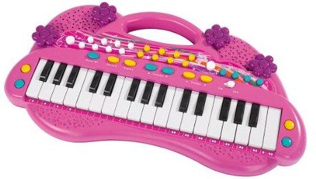 Simba 106830692 - My Music World Girls Keyboard 39cm