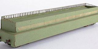 joswood 17061 229 mm Laser geschnitten Welt Abschrecken Wagon Building Kit