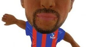 SoccerStarz soc1109 Classic Crystal Palace Andros Townsend Home Kit