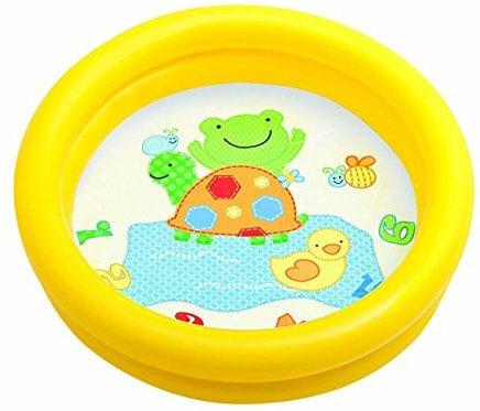 Intex 59409NP Plaschbecken Kinderpool My First Pool, 2-Ring, farblich sortiert