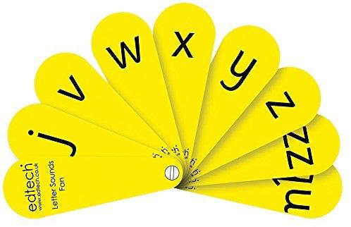 """Inspirierende Klassenzimmer 7.651.755,1 cm Stage 1 synthetischer Phonics Fans """"Educational Spielzeug (Pack von 6)"""