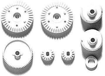 Tamiya 300051004 - TT-01-E-R G-Teile Getriebe-Set