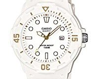 Casio Collection - Damen-Armbanduhr mit Analog-Display und Resin-Armband - LRW-200H-7E2VEF