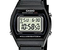 Casio Collection - Unisex-Armbanduhr mit Digital-Display und Resin-Armband - W-202-1AVEF