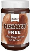 Xucker Nuss-Nougat Brotaufstrich mit Erythrit, ohne Zuckerzusatz, 33% Haselnuss-Anteil, 300g Glas, 9919
