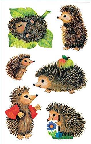 Avery Zweckform 4306 Kinder Sticker Igel 18 Aufkleber