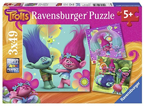 Ravensburger - LIL:Viel Spass mit Lillebi, 3x49 Teile