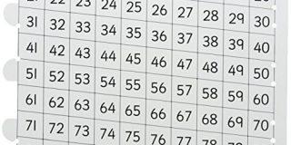 """Inspirierende Klassenzimmer 7.974.596,7 cm Lehrer Counting Tube """"Educational Spielzeug"""