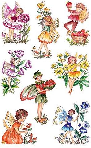Avery Zweckform 57021 Deko Sticker nostalgische Elfen 24 Aufkleber