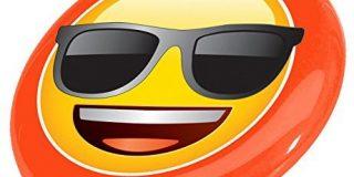 Emoji-Sonnenbrille Face Flying Disc - Gelb