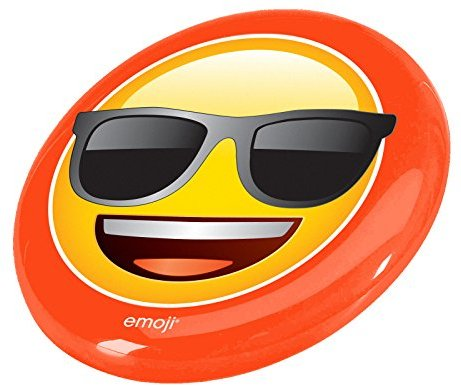 Emoji-Sonnenbrille Face Flying Disc - Gelb