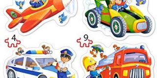 """Castorland B-005055 """"Exciting Jobs"""" Puzzle, 22 Teile"""