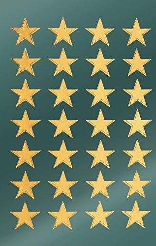 Avery Zweckform 52800 Weihnachtssticker Sterne 56 Aufkleber