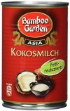 Bamboo Garden Kokosmilch Fettreduziert, 2er Pack (2 x 400 ml)