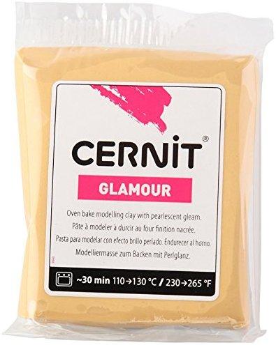 CERNIT CE0910056050 Glamour Lehm 56 G, oder, 7 x 5.5 x 1.5 cm