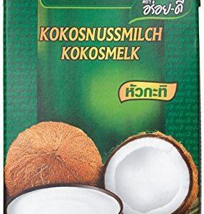 Aroy-D Kokosnussmilch, Fettgehalt: ca. 17%, 6er Pack (6 x 1 l Packung)
