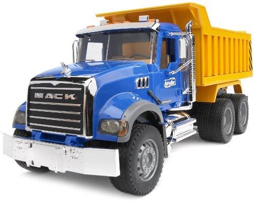 Bruder 02815 - MACK Granite LKW mit Kippmulde