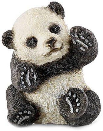 Schleich 14734 - Panda Junges, spielend, Tier Spielfigur