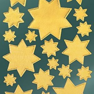 Avery Zweckform 52807 Weihnachtssticker Sterne 42 Aufkleber