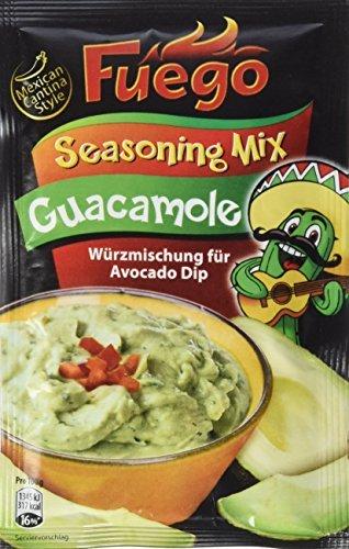 Fuego Guacamole Seasoning Mix, 3er Pack (3 x 35 g)