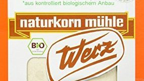Werz Amaranth-Vollkorn-Mehl glutenfrei, 1er Pack (1 x 500 g Karton) - Bio