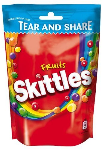 Skittles Fruits, 1er Pack (1 x 174 g)