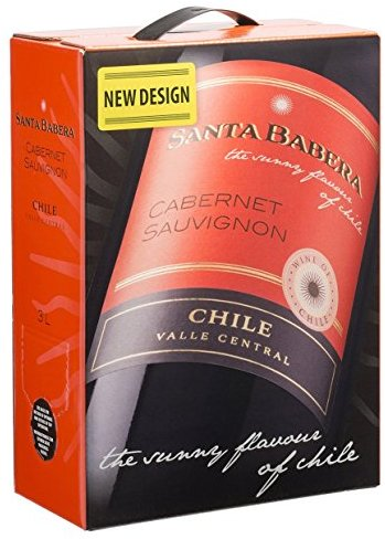 Santa Babera Cabernet Sauvignon Chile trocken Bag-in-Box (1 x 3 l)