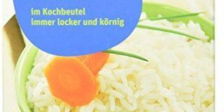 Tegut Spitzen-Langkorn Parboiled-Reis im Kochbeutel, 8er Pack (8 x 500 g)