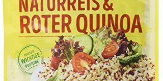 reis-fit Kornmix, Naturreis & roter Quinoa , 3er Pack (3 x 200 g)