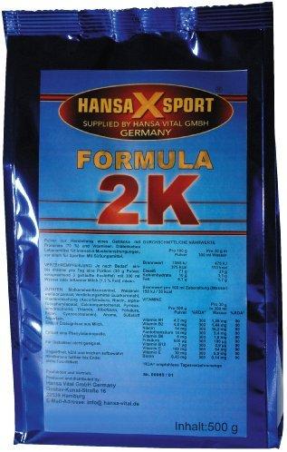 Hansa Vital Formula 2K Erdbeere, 1er Pack (1 x 500 g)
